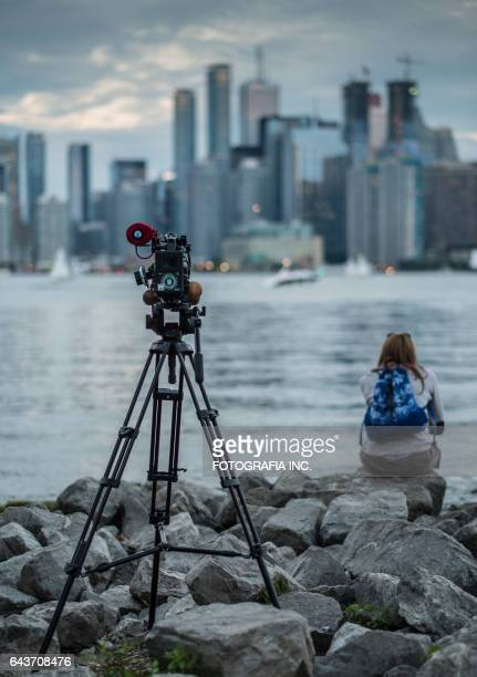 video camera on toronto island - 4k resolution stock pictures, royalty-free photos & images