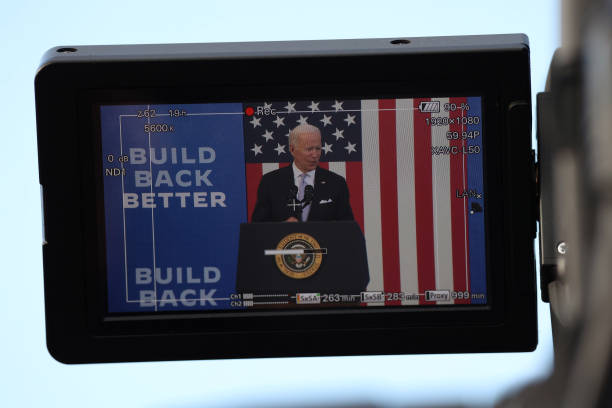 PA: President Biden Delivers Remarks At Electric City Trolley Museum