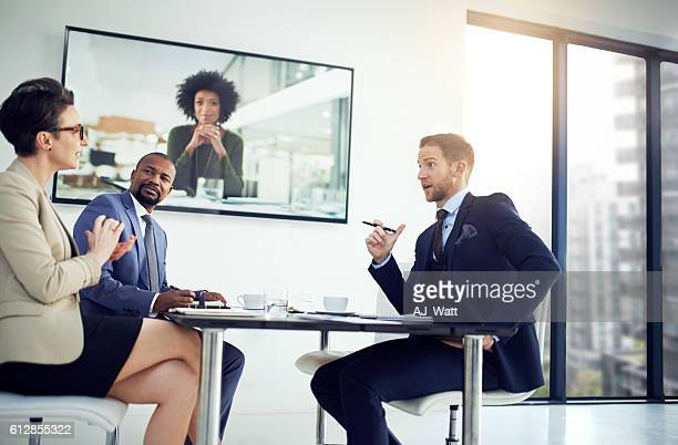 Video conferencing gives their company the competitive edge