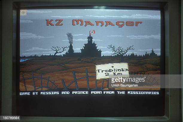 Video game KZ Manager Screen showing cartoon of the game