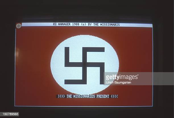 Video game KZ Manager Screen with swastika