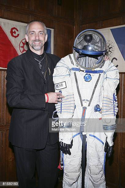 Video game mogul and space tourist Richard Garriot attends the Space Adventures announcement of Sergey Brin as orbital spaceflight investor and...