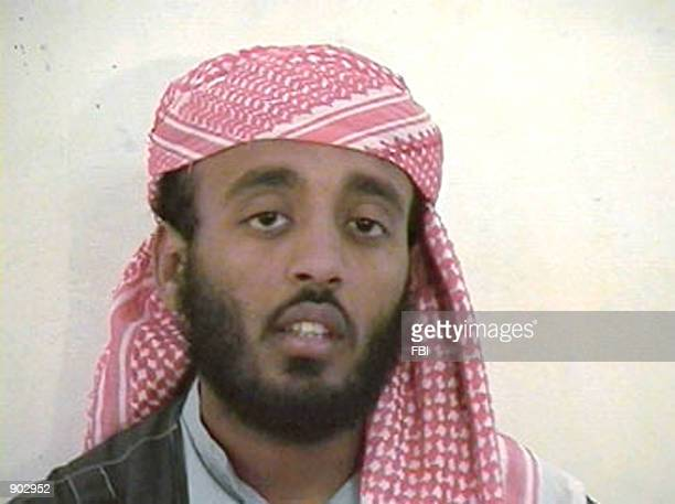 A video image released by the FBI January 17 2002 shows a suspected al Qaeda member tentatively identified as Ramzi Binalshibh The US government...