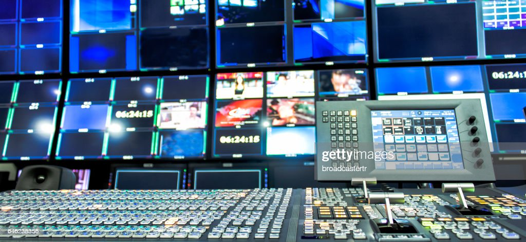 Video Mixer Switcher : Stock Photo