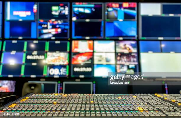video mixer switcher - de media stockfoto's en -beelden