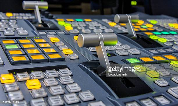 Video mixing fader