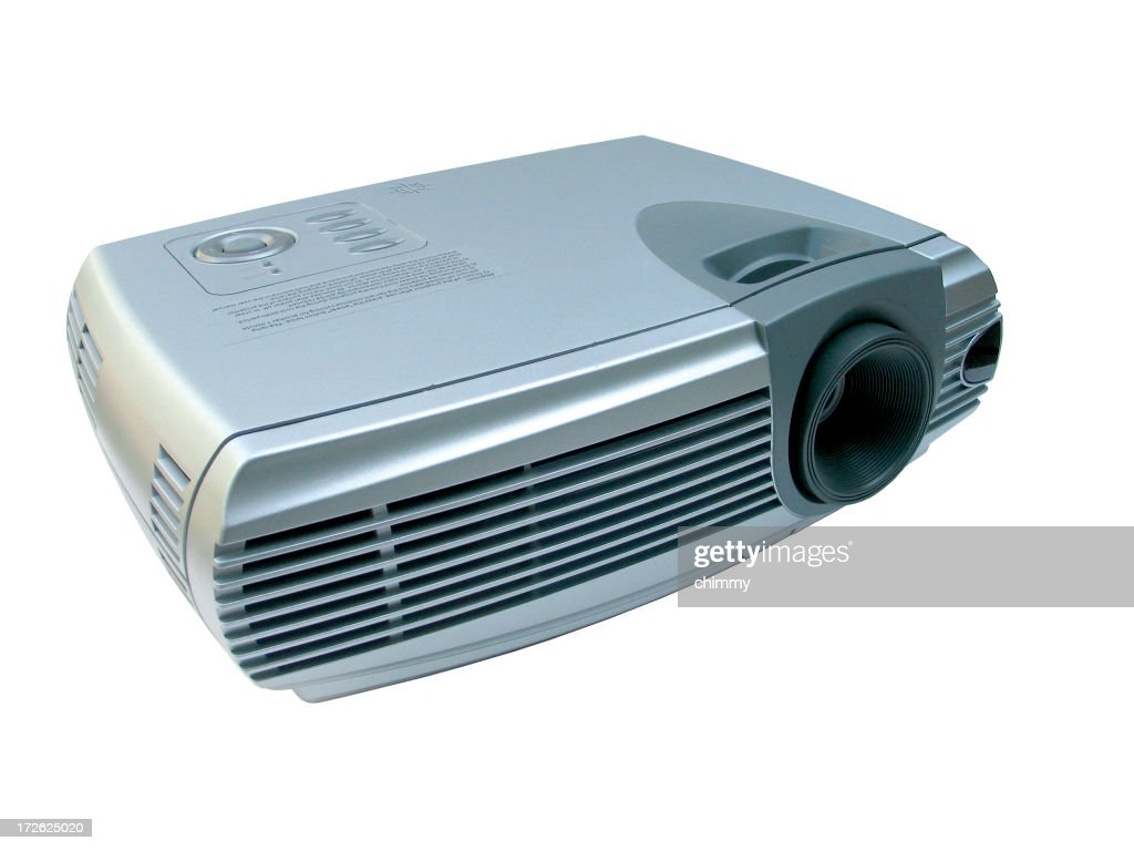 Video Projector in Full View : Stock Photo