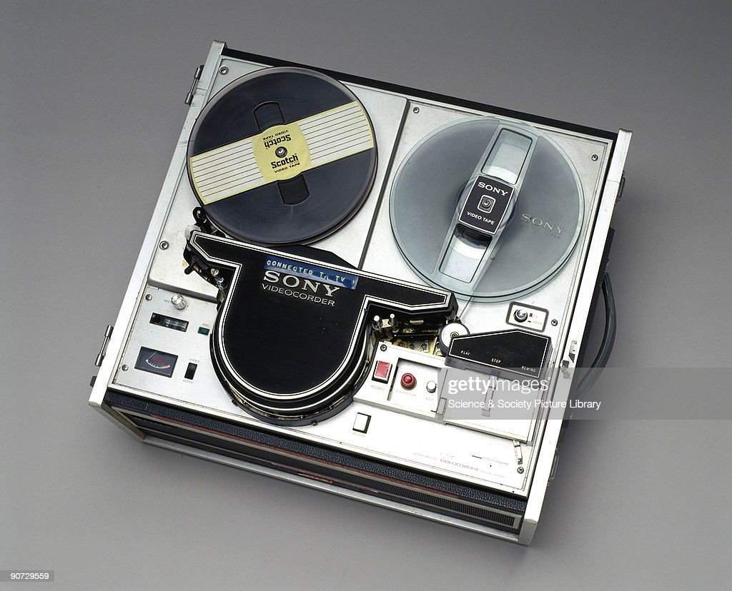 video recorders were developed during the 1950s by the american ampex    news photo