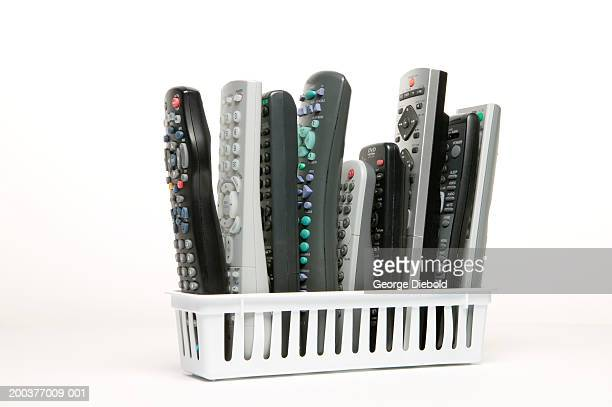 Video remote control devices in rack