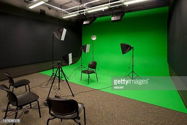 video studio - chroma key foto e immagini stock
