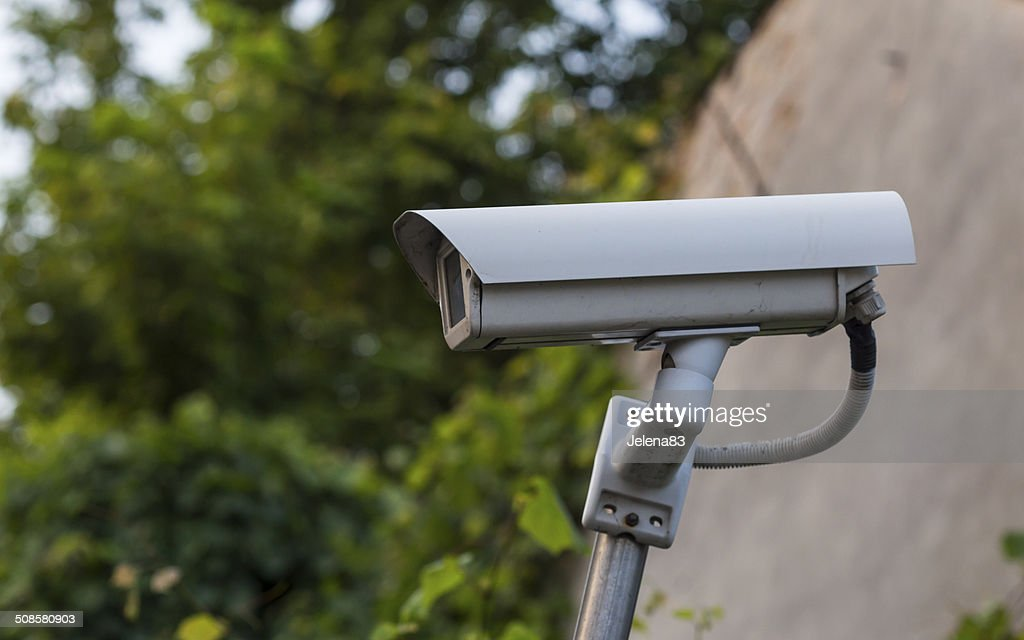video surveillance camera : Stock Photo