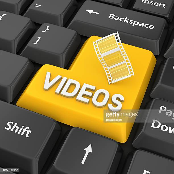 videos enter key