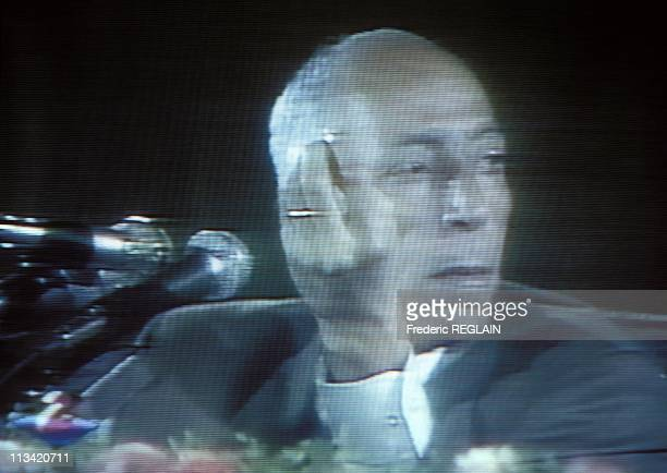 Videotape Of President Boudiaf Assassination On June 29th 1992