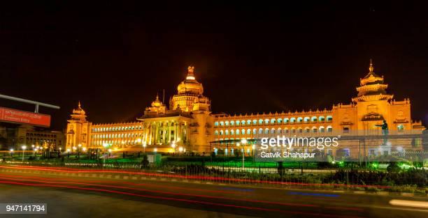 vidhana soudha - bangalore india - bangalore stock pictures, royalty-free photos & images