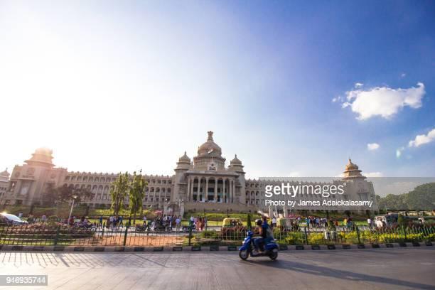 vidhana soudha, bangalore, karnataka, india - bangalore stock pictures, royalty-free photos & images