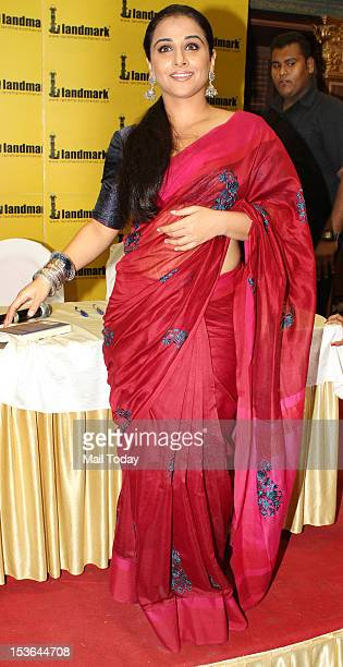 Vidya Balan at the launch of book Unhooked by author Munmun Ghosh in Mumbai