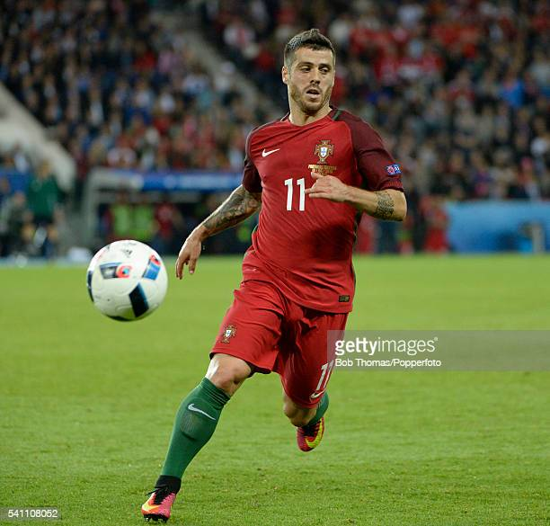 Vieirinha in action for Portugal during the UEFA EURO 2016 Group F match between Portugal and Austria at Parc des Princes on June 18 2016 in Paris...