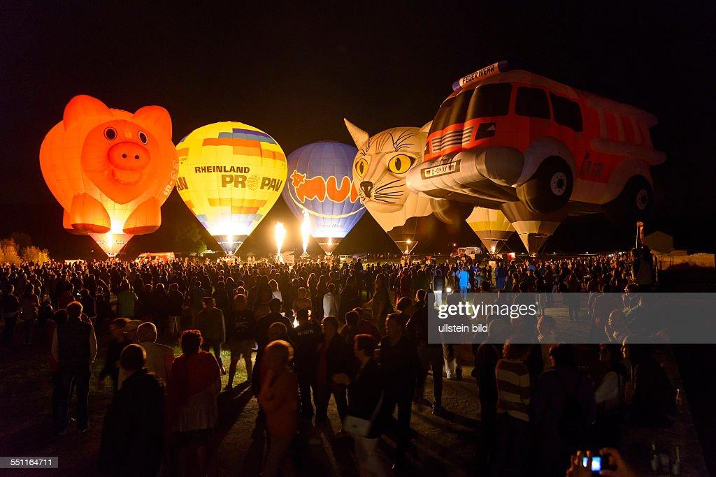 Ballonglühen in Reinheim Pictures   Getty Images