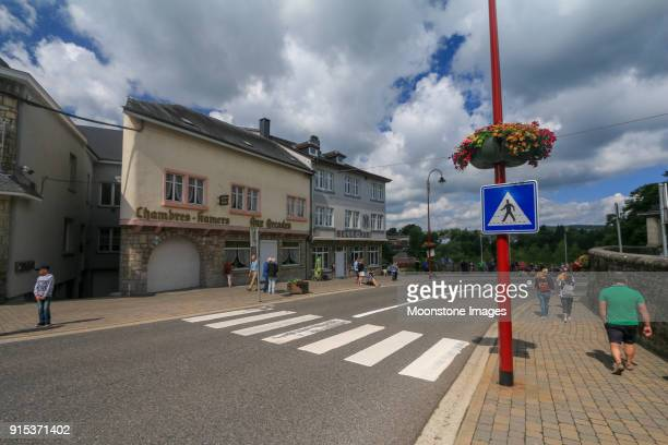 vielsalm in luxembourg, belgium - ardennes department france stock photos and pictures