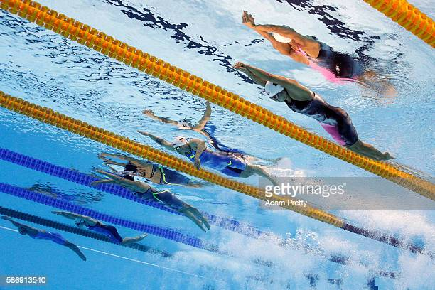 Vien Nguyen Thi Anh of Vietman Ajna Kesely of Hungary Lotte Friis of Denmark Sarah Kohler of Germany and Yuhan Zhang of China compete in the in the...