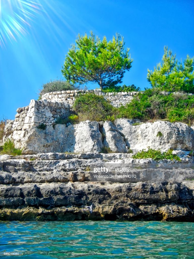 vieni a nuotare in Puglia : Stock Photo
