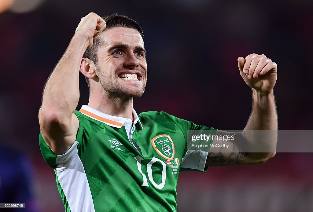 Austria v Republic of Ireland - FIFA World Cup Group D Qualifier : Foto di attualità