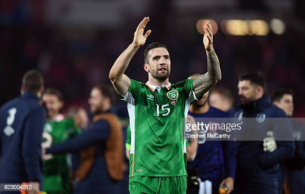 Vienna Austria 12 November 2016 Shane Duffy of Republic of Ireland following the FIFA World Cup Group D Qualifier match between Austria and Republic...