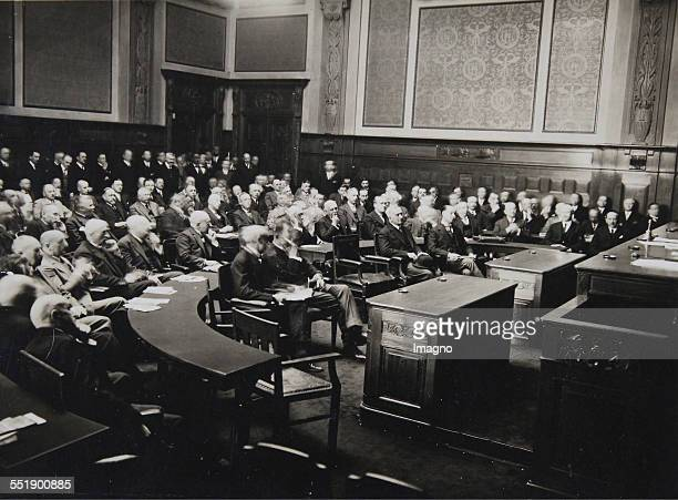 Vienna Boardroom [] About 1925 Photograph