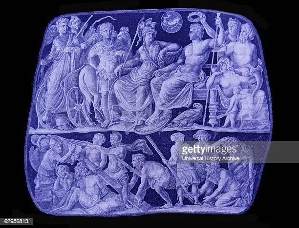 Vienna Cameo depicting the triumph of Emperor Tiberius Born Tiberius Claudius Nero a Claudian Tiberius was the son of Tiberius Claudius Nero and...