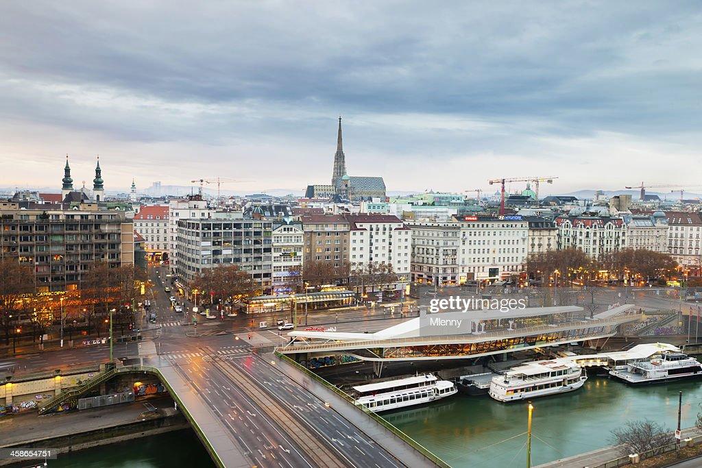 Cidade de Viena, Áustria : Foto de stock