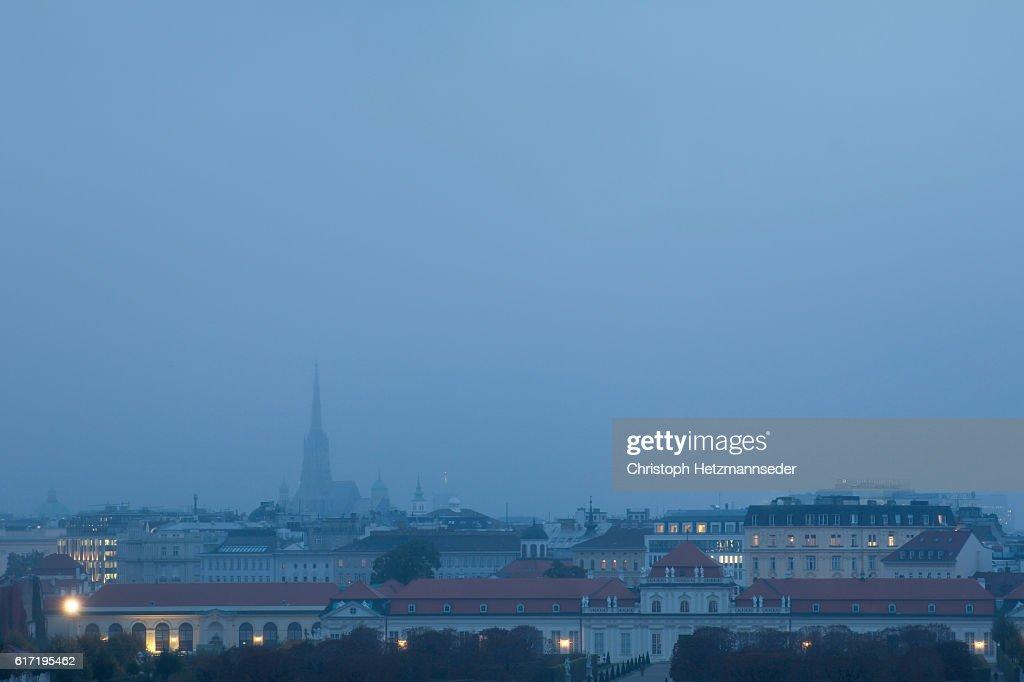 Vienna evening : Stock Photo