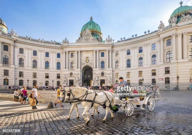 Vienna Hofburg Michaelerplatz