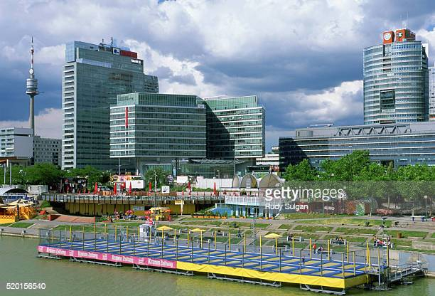 vienna international center - utc−10:00 stock pictures, royalty-free photos & images