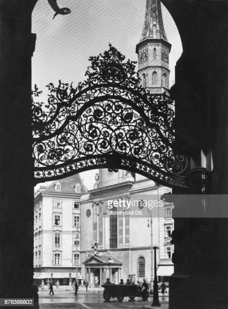 Vienna Michaeler Platz Vintage property of Ullstein Bild