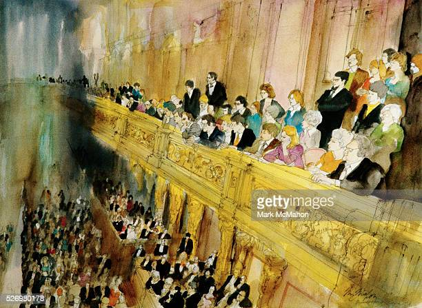 Musikverein Concert Audience by Franklin McMahon