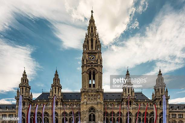 Vienna, Neues Rathaus, New City Hall