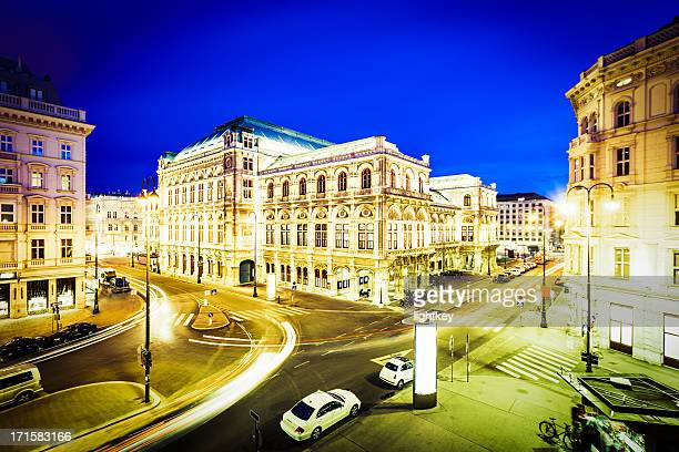 vienna opera house, austria - vienna state opera stock pictures, royalty-free photos & images