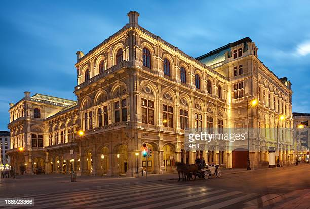 vienna opera house (xxxl) - vienna state opera stock pictures, royalty-free photos & images