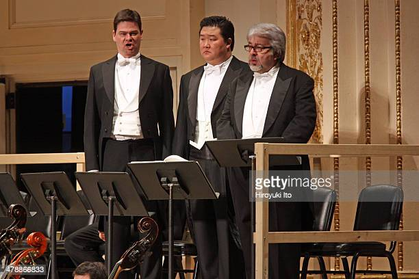 """Vienna State Opera and Vienna Philharmonic Orchestra performing Richard Strauss's """"Salome"""" at Carnegie Hall on Saturday night, March 1, 2014.It is..."""
