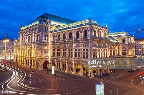 vienna state opera house - vienna state opera stock pictures, royalty-free photos & images