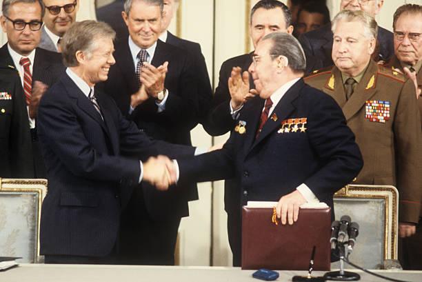 AUT: 18th June 1979 - US & USSR Sign the Salt II Treaty in Vienna