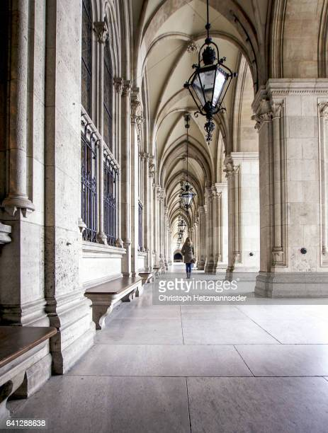 Vienna Town hall passage