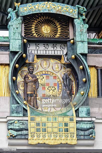 Vienna's Anchor Clock (Ankeruhr)