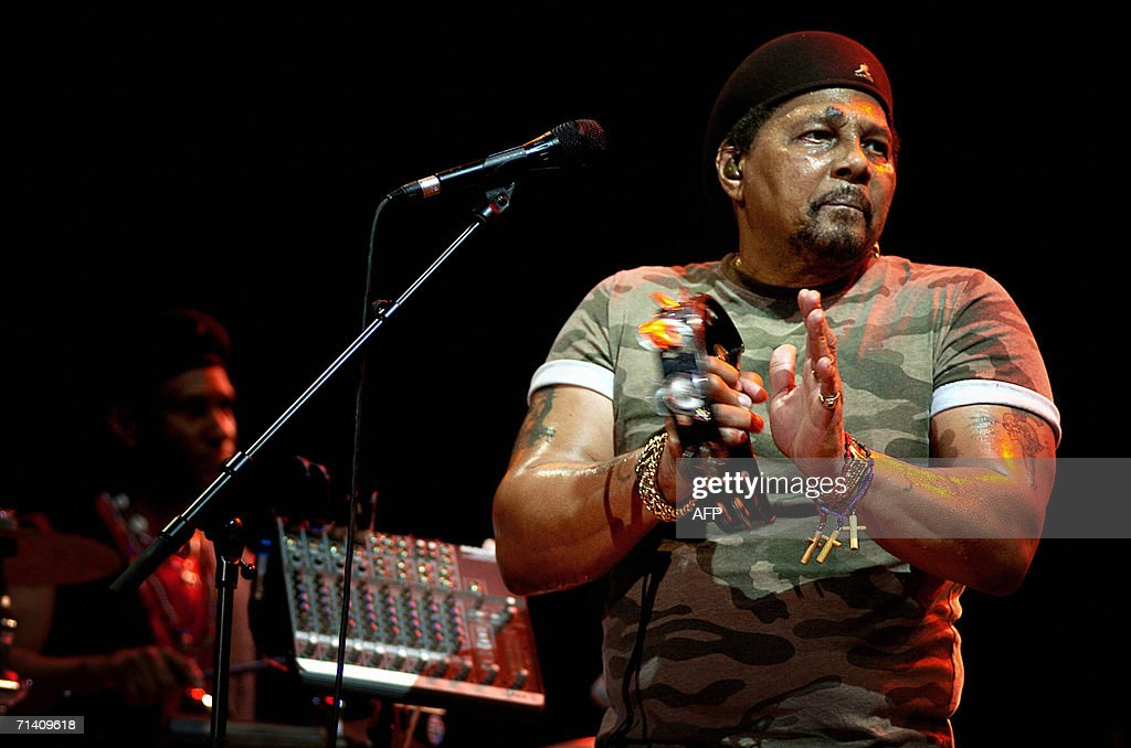 US singer Aaron Neville performs with hi Pictures | Getty Images