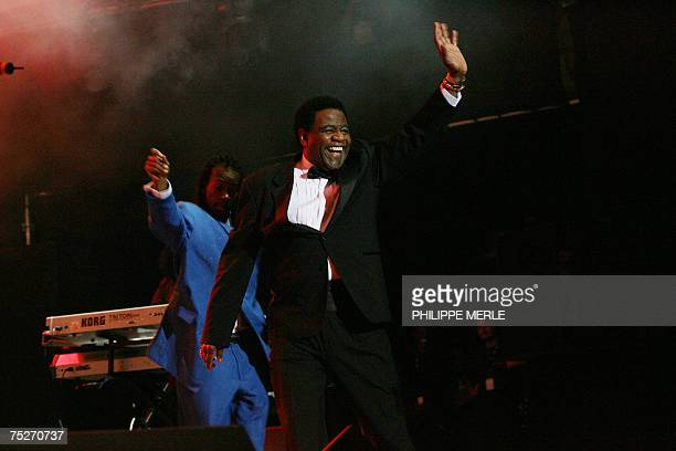 US singer and musician Al Green performs on stage during a concert at the 'Jazz a Vienne' festival 07 July 2007 in Vienne southeastern France AFP...
