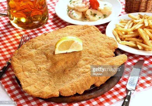 Wiener style schnitzel