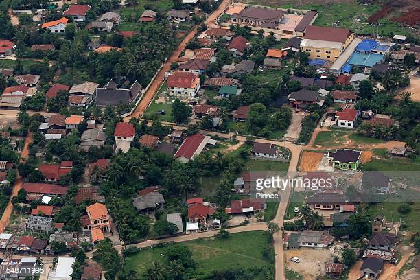 vientiane city view, laos - laotian culture stock pictures, royalty-free photos & images