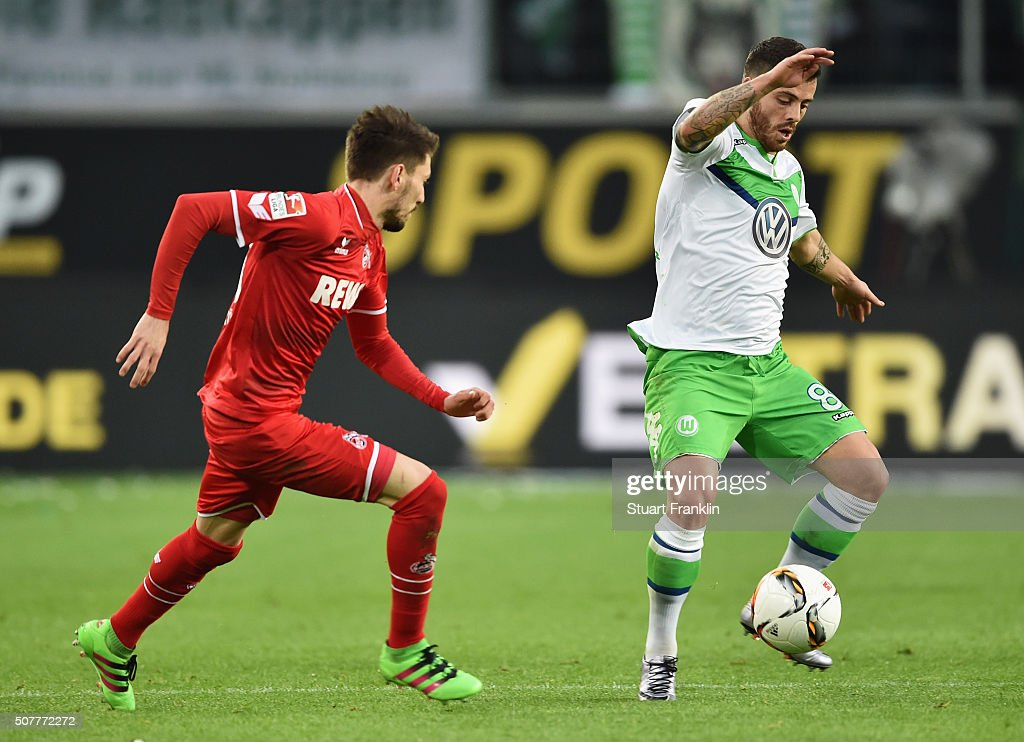 Vierinha Of Vfl Wolfsburg Is Watched By Filip Mladenovic Of Cologne News Photo Getty Images