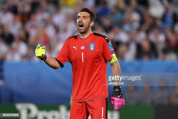 FUSSBALL EURO 2016 Viertelfinale in Bordeaux Deutschland Italien Torwart Gianluigi Buffon