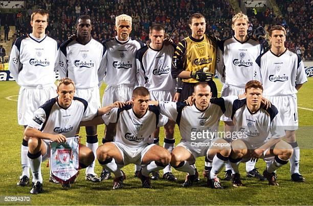 LEAGUE 01/02 Viertelfinale Leverkusen BAYER 04 LEVERKUSEN FC LIVERPOOL 42 TEAM/MANNSCHAFTS